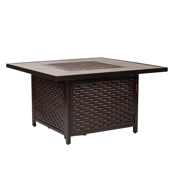 Baker Cast Aluminum LPG Fire Pit Table