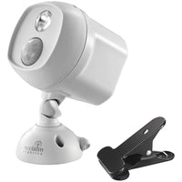 Acclaim Lighting Motion-activated Led Spotlight With Clamp (dove Gray)