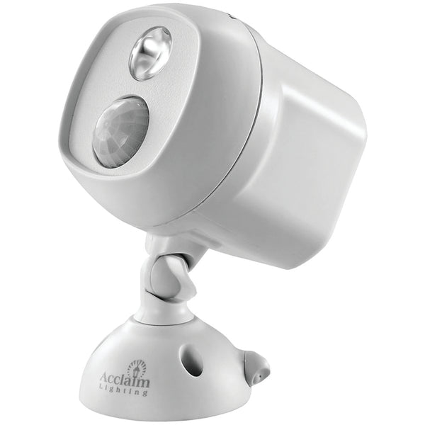 Acclaim Lighting Motion-activated Led Spotlight (dove Gray)