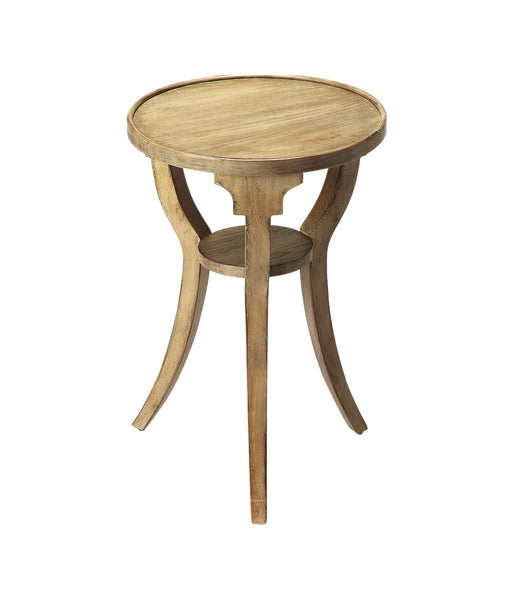 Butler Home Decorative Round Accent Table Driftwood Finish