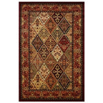 La Rugs Home Living Room Area Rug Multi-color Cosmos 2'x8'- 1299/03-0208
