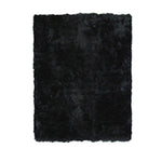 "Super Shag Black- 39""x58""- LAR-55-3958"
