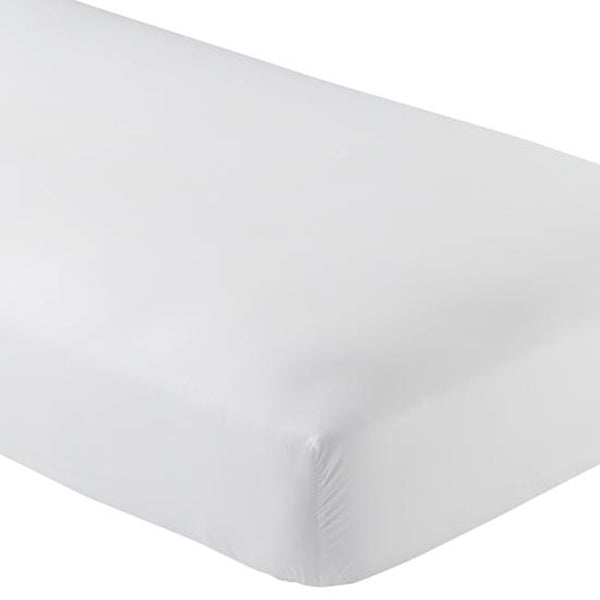 "Luxe Collection 618ct Combed Cotton Sateen Weave Low Profile - Fts Mattresses Up To 11"" Split Queen White"
