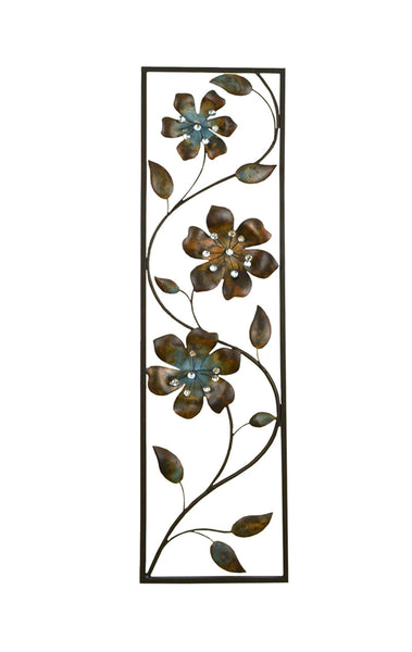 Stratton Home Decor Wall Hanging Winding Flowers