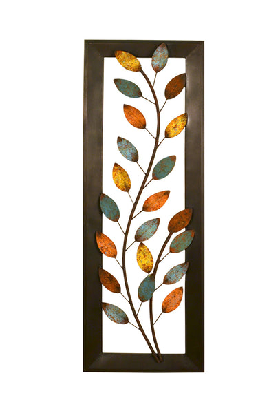 Stratton Home Decor Wall Hanging Winding Leaves Panel