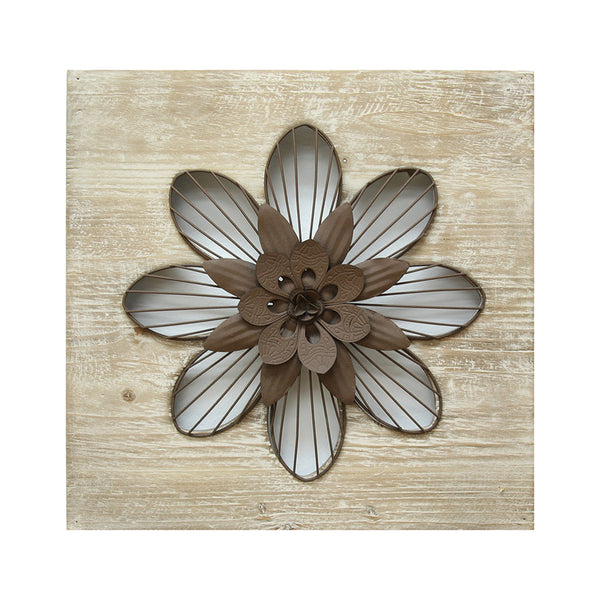 Stratton Home Decor Wall Hanging Rustic Flower