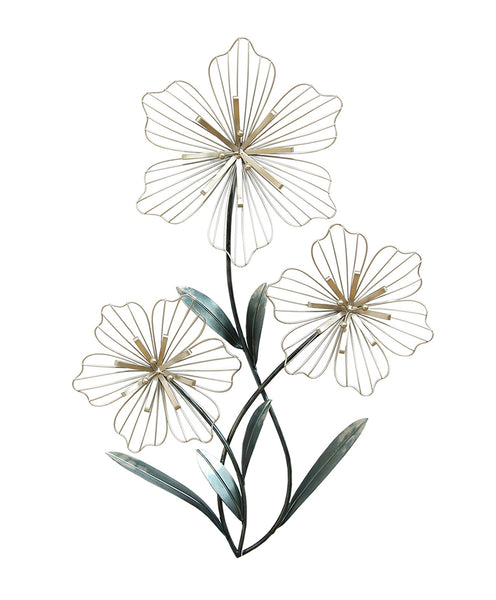 Stratton Home Decor Wall Hanging Tri-Flower