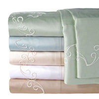 300Tc Solid Sheet Set Full Blue