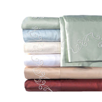 500Tc Solid Sheet Set D.King Ivory