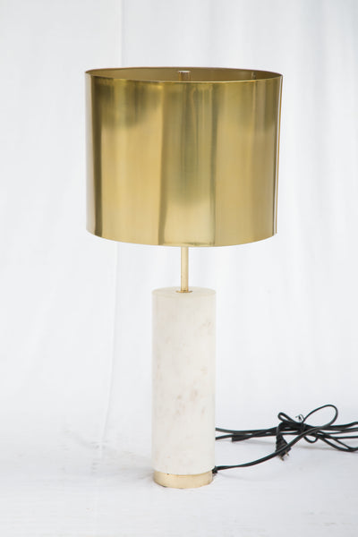 York Table Lamp Brass