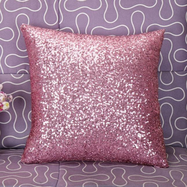Solid Color Glitter Sequins Throw Pillow Case home decorative throw pillow pillowcase for the pillow 45*45