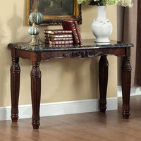 Brampton Traditional Style Sofa Table