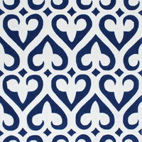 Agape Contemporary Area Rug Cobalt