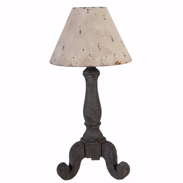Table Lamp With A Pedestal Stand Base