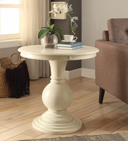 Alyx Accent Table, Antique White