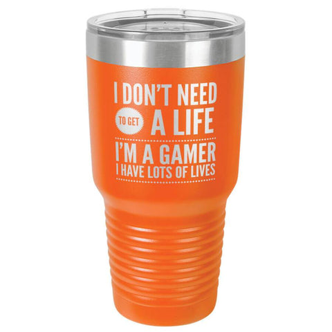 "Image of Bella Fields - ""I'm a Gamer"" Premium Laser Etched 30 oz Tumbler"