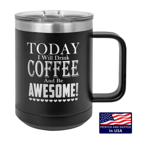 "Image of Bella Fields - ""Be Awesome"" Premium Laser Etched Mug Tumblers"