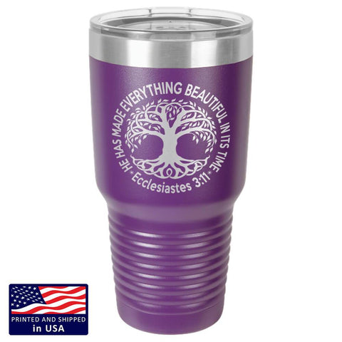 "Image of Bella Fields - ""Tree of Life"" Premium Laser Etched 30 oz Tumbler"