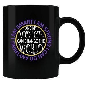 "Bella Fields - ""I Can Change the World"" Premium Coffee Mug"