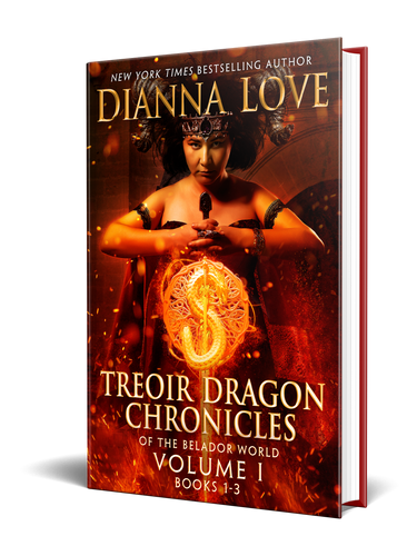 Treoir Dragon Chronicles of the Belador World: Volume I,  Books 1-3 (hardback)