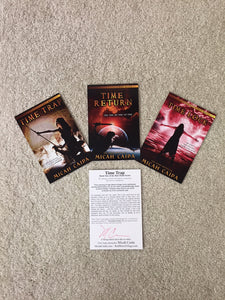 Signed Red Moon Trilogy Keeper Kase Cover Cards
