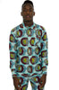 African Kente men's suit set