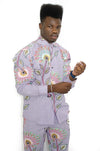 Adex Traditional African Men's suit shirt and pant