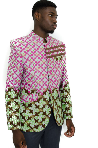 Adex African print Jacket