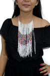 African Multi Strand Beaded Necklace