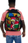 Umoja African Print Backpack