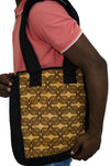 African print tote bag for laptop