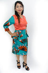 Ankara print Blouse and Skirt Set