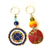 Colorful maasai beads Keychain