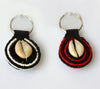 Cowry shell beaded key holder