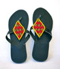 Maasai Leather African Beads Sandals for Women