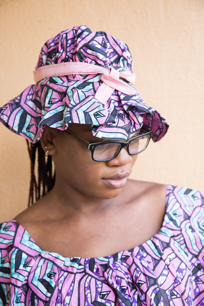Complete set African print fashion