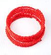Amani African Beaded Stretch Bracelet