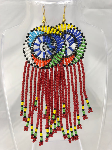 Nuru African Maasai Beaded Earring