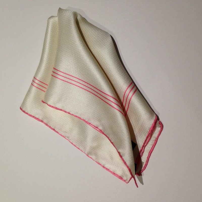 Monty Silk Pocket Square
