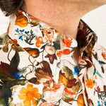 Lawrence (White) Print Shirt
