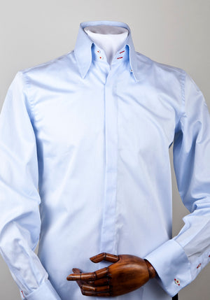 Summer weight Luke Sky Blue Shirt