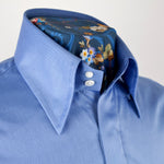 Spring weight Luke Chambray Blue Shirt