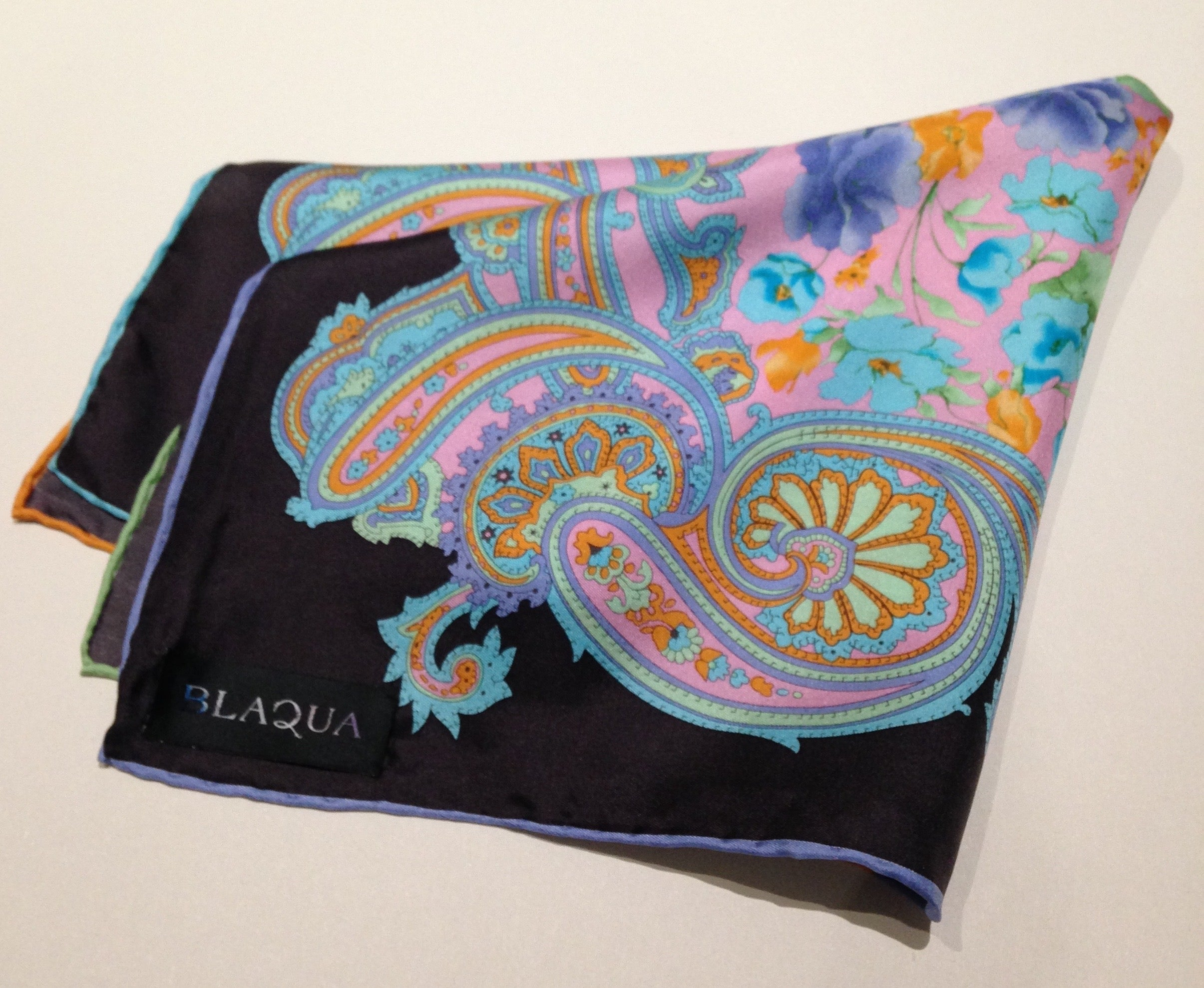 Lionel Silk Pocket Square