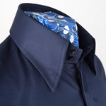 Spring weight Luke Navy Blue Shirt