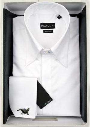 Spring weight Luke White Shirt