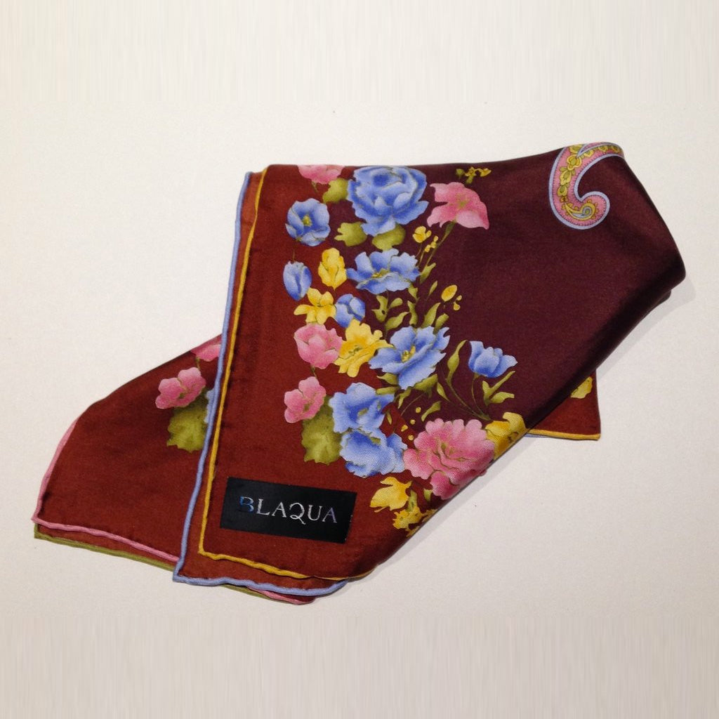 Harry Silk Pocket Square