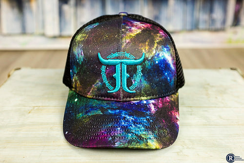 Galaxy Print JJ Trucker Cap - Rogue Country Outfitters