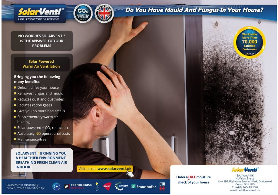 How to control the level of moisture in your home to prevent mould