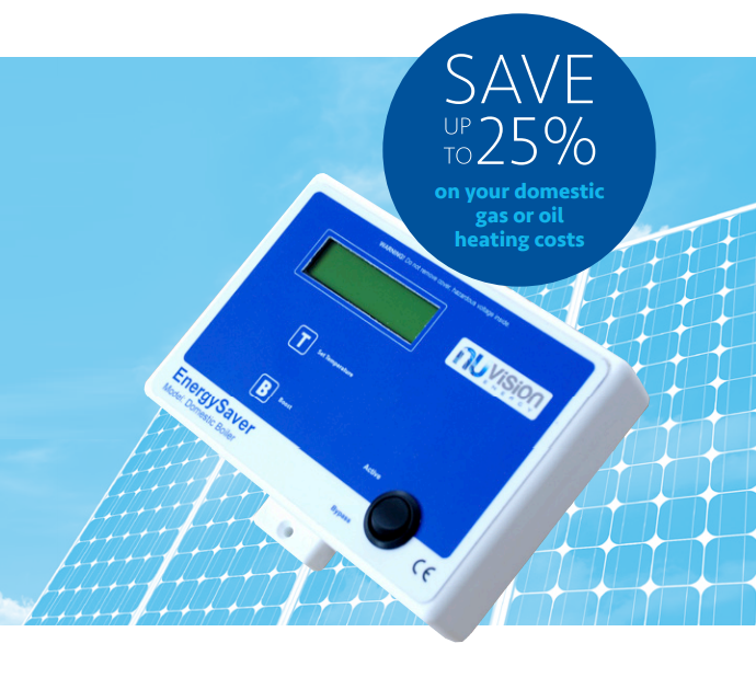 NUVISION BOILER ENERGY SAVER AUTO Saves you up to 25% off your heating bills