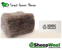 Comfort SheepWool Insulation 3m - 570mm x 150mm - 2 ROLLS FREE SHIPPING